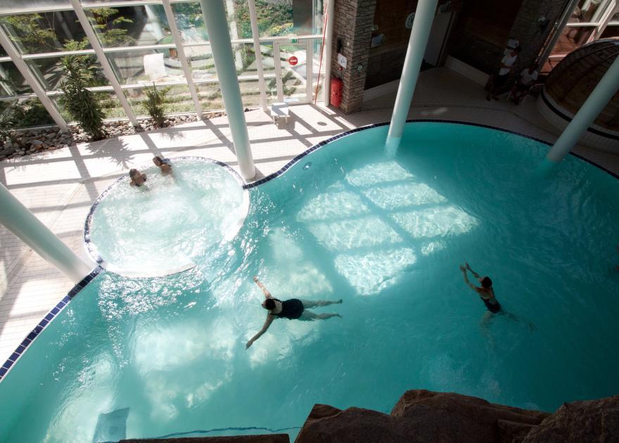 Les bains romains